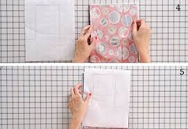 hanging towel. Step 3 Pin The Pattern On A Tracer Paper | Easy Hanging Hand Towel Sewing Tutorial