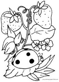 Small Picture Printable Spring Coloring Pages Easter colouring Cherry