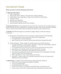Sample Grant Budget Proposal Template Download Project Description ...