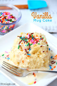 Easy Vanilla Mug Cake Bitz Giggles