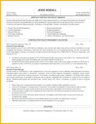 Sample Resume Construction Project Manager Free Resume Templates For Construction Project Manager