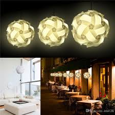 diy modern pendant ball novel iq lamp jigsaw puzzle pendants colorful pendant lights led diy adjule chandelier ceiling lamp kitchen island lighting