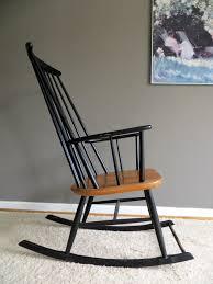 Mid-Century Scandinavian Rocking Chair, 1960s