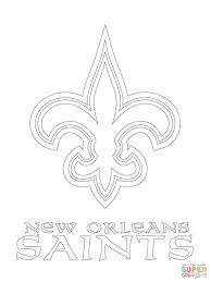 New Orleans Saints Coloring Pages Gallery Coloring For Kids 2018