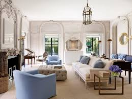 French Style Living Room Living Room With Tufted Ottoman And French Style Sofa Pick The