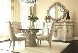 round dining table 6 round glass dining table set for 6 popular of glass round dining