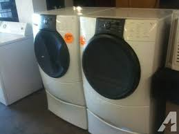 kenmore front load washer. KENMORE ELITE HE3 FRONT LOAD WASHER \u0026 DRYER SET !!** Kenmore Front Load Washer L