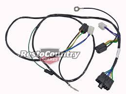 hz wiring loom hz image wiring diagram holden single headlight horn wiring loom harness hx hz wire light