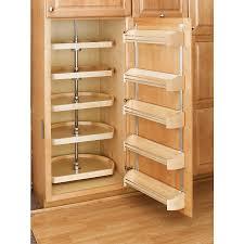 Kitchen Lazy Susan Cabinet Shop Rev A Shelf 5 Tier Wood D Shape Cabinet Lazy Susan At Lowescom