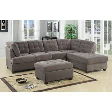 Studio Living Room Furniture Brayden Studio Aedesia Waffle Reversible Chaise Sectional