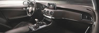 2018 kia gt stinger. exellent kia kia stinger gt interior dashboard shot with 2018 kia gt stinger
