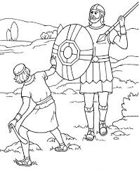 David And Goliath Coloring Pages Printable Google Search Learn