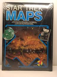 Star Trek Maps The Navigational Charts Of The Five Year Voyage Of The Starship Enterprise