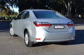 toyota corolla 2017 silver. with the new update comes redesigned tail-lights and rear bumper. (image credit toyota corolla 2017 silver