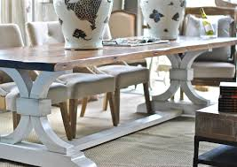 Kitchen Dining Furniture Lucia Trestle Dining Table From Saltaire Restoration Saltaire