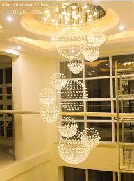 large modern chandelier lighting. Duplex Building Stair Crystal Chandelier Villa Foyer Shopping Mall Hotel Large Chandeliers Modern Light Lighting
