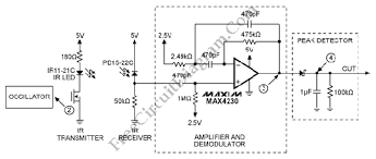infrared ir proximity distance sensor circuit diagram world infrared ir proximity distance sensor