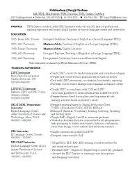Esl Resume Sample Best Of Esl Resume Sample Resume Letter Collection
