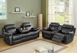 reclining loveseat with center console flexsteel leather sofa love seat recliner