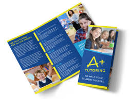 Education Brochure Templates Awesome Tutoring Tri Fold Brochure Template