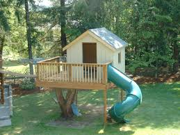tree house decorating ideas. Photo 1 Of 9 Charming Backyard Treehouse For Kids #1 Tree House Ideas Labels Decorating O