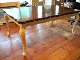 refinished dining room table how to stain a dining room table refinishing dining room table need