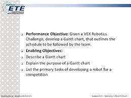 Develop A Gantt Chart Ppt Video Online Download