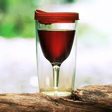 vino2go portable wine glass