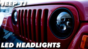 Sunpie Led Lights Sunpie Led Headlights Jeep Wrangler Tj