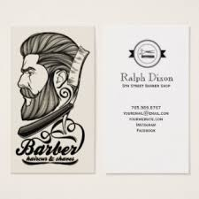 barbershop business cards barber shop haircuts business cards business card printing