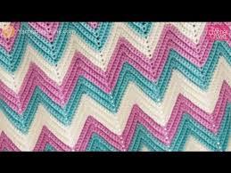 Zig Zag Crochet Pattern Stunning Left Hand Zig Zag Baby Crochet Blanket YouTube