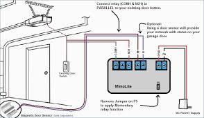 genie garage door opener wiring diagram awesome 23