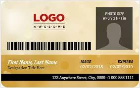 5 Best Corporate Professional Id Card Templates Microsoft