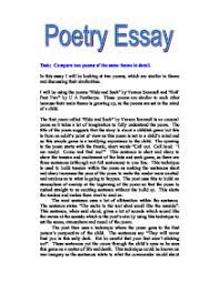 poetry essay gcse health and social care marked by teachers com health and social care acircmiddot child development page 1 zoom in