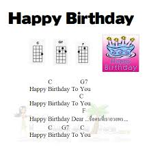 Ukulele Notes For Happy Birthday Google Search In 2019