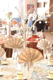 Napkin In Glass Design Tan Cotton Fan Folded Napkin In Iced Beverage Glass With A
