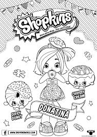 Shopkins Season 6 Coloring Pages