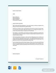 Examples On How To Write Retirement Resignation Letter