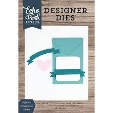 Echo Park Designer Dies Gift Card Envelope
