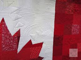 """Colleen's Canadian Flag Quilt 
