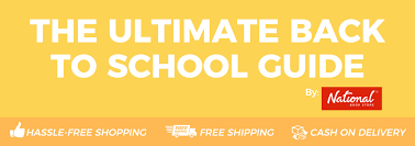 School Checklist Ultimate Back To School Checklist 2017 National Book Store