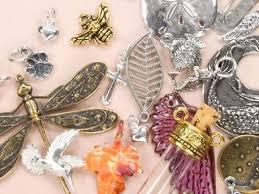 metal charms pendants