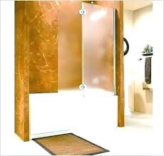 how much does it cost to install a shower door doors really encourage installation glass doo