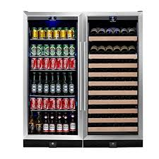 large wine refrigerator. Perfect Large KingsBottle 2 Zone Large Wine U0026 Beverage Fridge  397 Pounds Combo Fridge  Holds 300 Throughout Refrigerator T