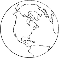 Free printable 7 continents coloring map when traveling the world is not an option, looking at maps is the next best way for children to learn all … find the detailed large world globe map or simple flat world map hd image or picture of the earth which is current, new, printable and free for download. Templates For Kids To Color Globe Earth Coloring Pages Earth Day Coloring Pages World Map Coloring Page
