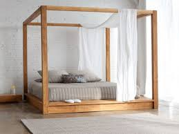 Make A Ruffle Full Size Canopy Bed Sourcelysis