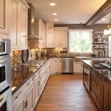 backsplash paint undercab lighting corner cabinet would be good with gl doors
