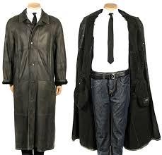 christ fur coat leather jacket vintage