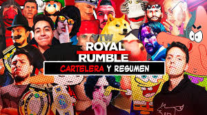 YTW ROYAL RUMBLE 2021 LA PREVIA: RESUMEN Y CARTELERA - YouTube