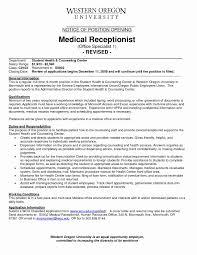 Front Desk Receptionist Resume Sample Sample Resume Medical Front Desk Receptionist Inspirationa Medical 13